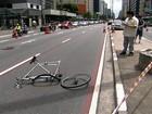 Motorista que atingiu ciclista pode ter tido crise de pânico, dizem psiquiatras