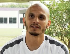 Fábio Santos, lateral do Corinthians (Foto: Reprodução SporTV)