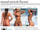 À espera de Neymar, sites espanhóis ressaltam beleza de Marquezine