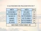 Prefeitura divulga calendário de pagamento de servidores em Vitória