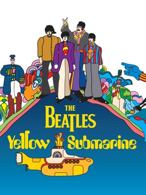 Cartaz de 'Yellow Submarine&quot; (Foto: Divulga&#231;&#227;o)