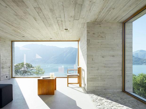 D cor do dia primeiro a natureza casa vogue interiores for Casa minimalista 6 x 12