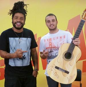 Roots Rock Reggae! Onze:20 ensina 'Meu Lugar' (Esquenta! / TV Globo)