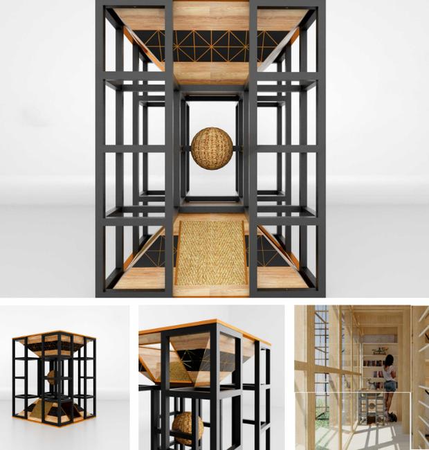 design-mobilia-para-gatos-daf-ashari (Foto: Divulgação)
