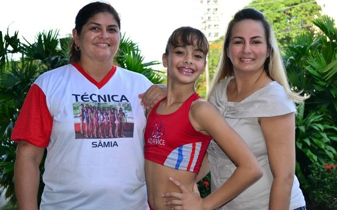 ginasta do amazonas hayssa lobato (Foto: Antônio Barros Júnior/Sejel)