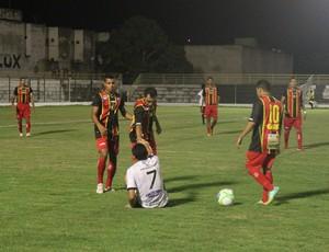 Globo FC x Treze - amistoso (Foto: Kaline Rodrigues/Divulgação)