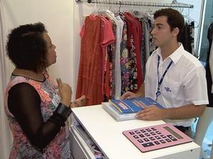 Empreendedores recebem consultoria do Sebrae na Semana do MEI (Foto: Reprodução TV Integração)