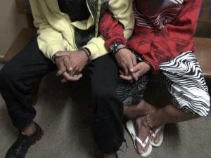 Adolescentes são presos com 120 pinos de cocaína em Porto Ferreira (Foto: Osni Martins)