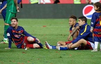 MSN aumenta recorde no Barcelona, mas Neymar é quem menos contribui