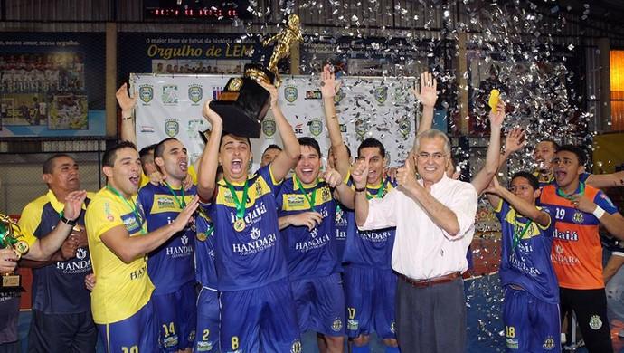 Horizonte Campeão da Liga Nordeste de Futsal (Foto: Divulgação / Site oficial do Horizonte)