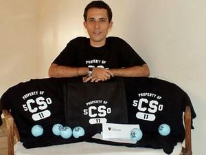 Gabriel Guimarães, de 19 anos, mora em Vitória e criou um curso on-line de computação (Foto: Arquivo pessoal)