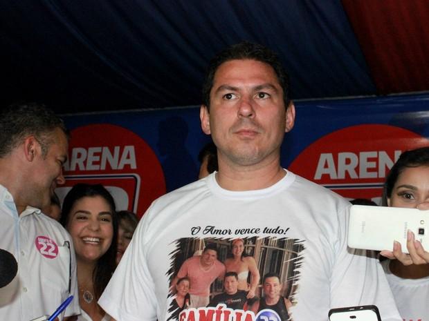 Marcelo Ramos conversou com imprensa após resultado do pleito (Foto: Rickardo Marques/G1 AM)