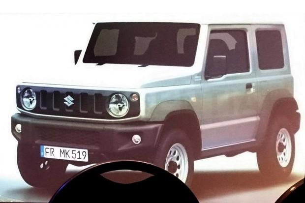Novo Suzuki Jimny vaza em imagens de apresentação (Foto: Reprodução)
