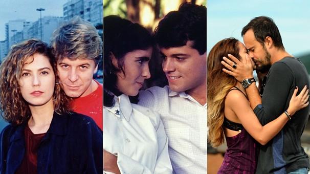 Anos Dourados, de 1986, As Noivas de Copacabana, de 1992, e A Teia, de 2014, estão entre as produções do Luz, Câmera 50 Anos (Foto: CEDOC Globo)