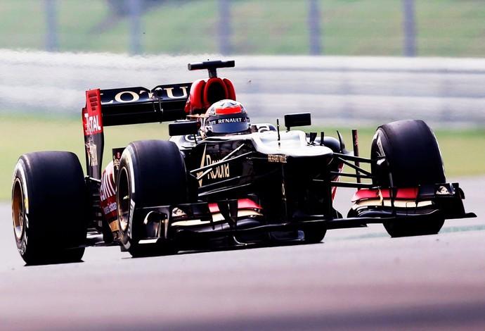 F1 India Raikkonen Lotus (Foto: Reuters)