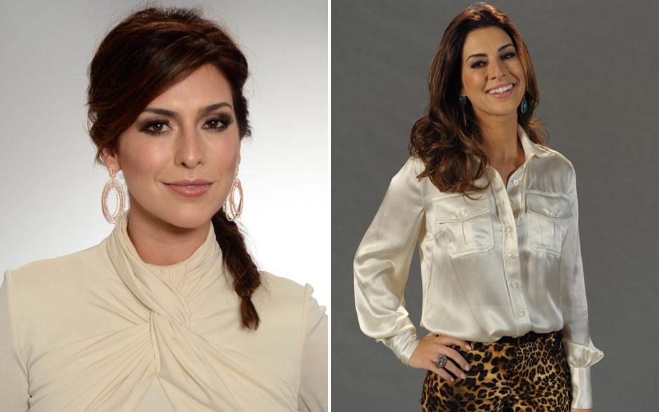Ruiva e poderosa, Fernanda arrasou nos eventos de Salve Jorge (Foto: Salve Jorge/TV Globo)