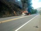 Sobe para 10 número de mortos em acidente na BR-116, em Leopoldina