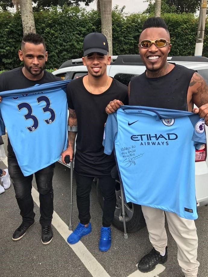Gabriel Jesus clipe Manchester City