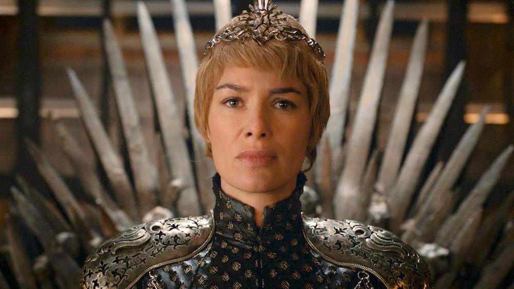 Cersei no Trono de Ferro no fim da sexta temporada de GoT (Foto: Reprodução/ HBO)