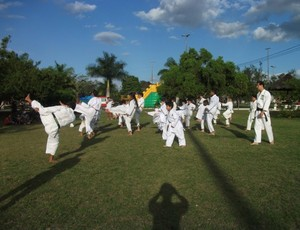 Atletas campinenses de Caratê (Foto: Divulgação / João Carlos Marques)
