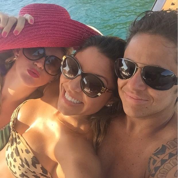 Andressa Ferreira, Thammy Miranda e Val Marchiori (Foto: Reprodução/ Instagram)