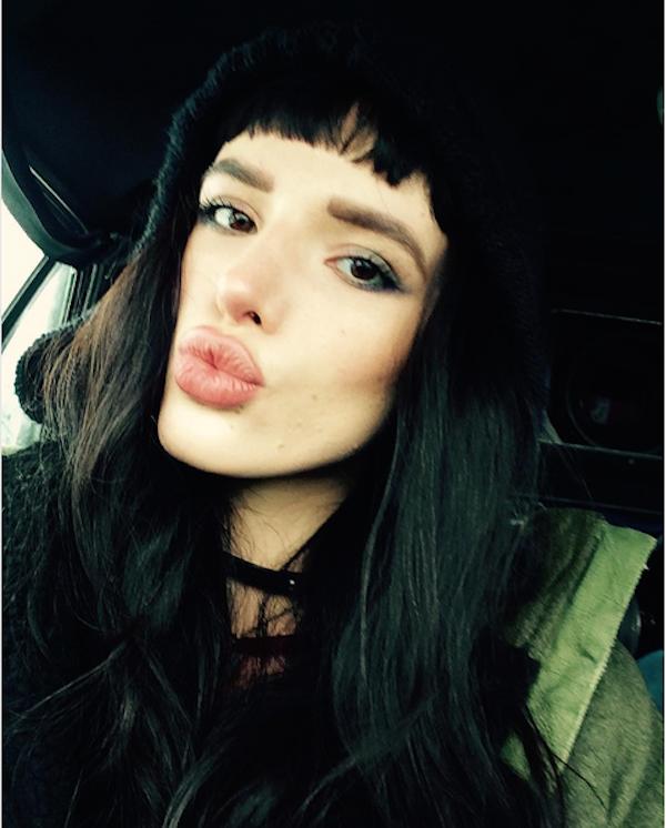 A atriz Bella Thorne (Foto: Instagram)