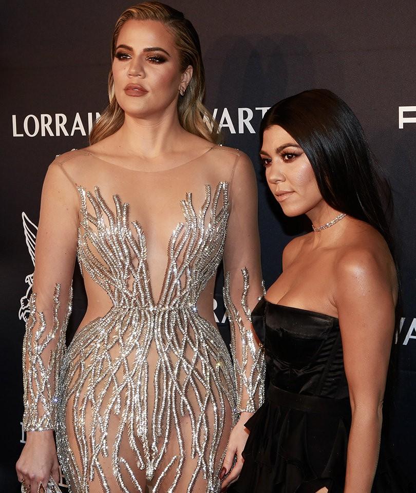 Khloe Kardashian revela detalhes sobre os gostos para lingerie de Kourtney (Foto: Getty Images)