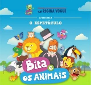 Bita e os animais (Foto: Divulgação)