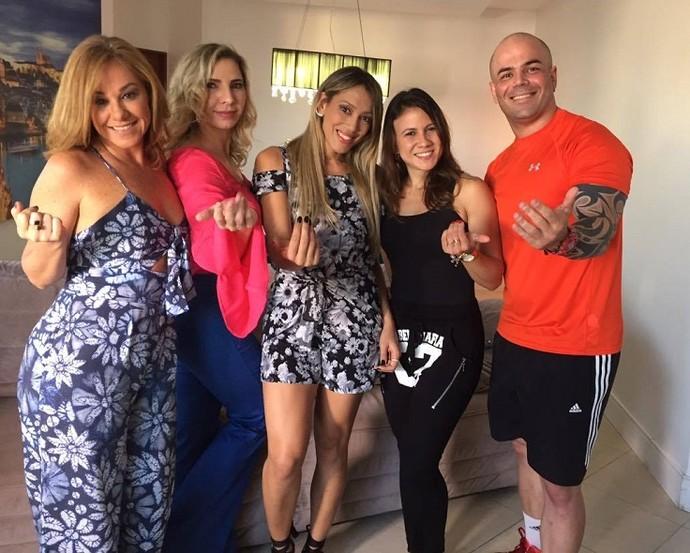 Equipe do MTV 2017 (Foto: Fernando Petrônio)