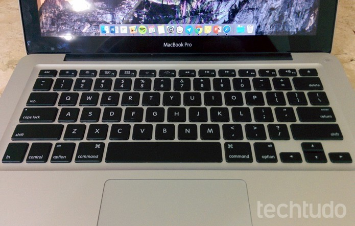Teclado do MacBook pode dar lugar a superfície Force Touch (Foto: Paulo Alves/TechTudo)