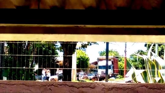 Dois bancos são assaltados ao mesmo tempo em Miraguaí, no RS