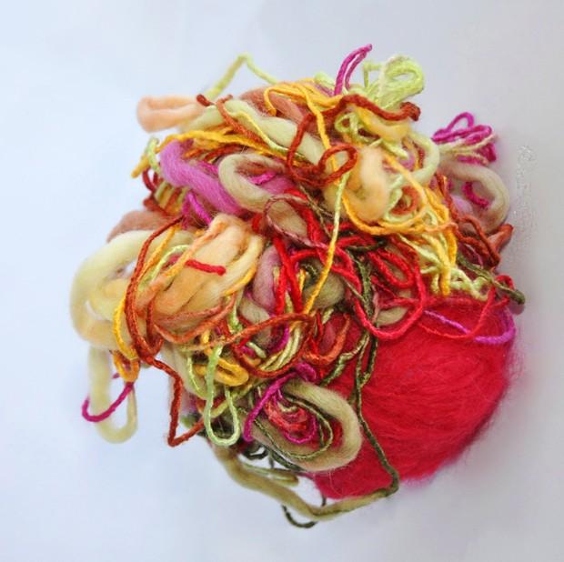 'Amálgamas' é a mais recente mostra da artista Barbera van den Tempel (Foto: Divulgação)