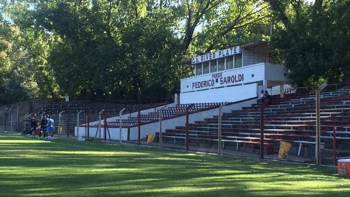 Parque Federico Saroldi, estádio do River Plate do Uruguai (Foto: Rodrigo Faber)