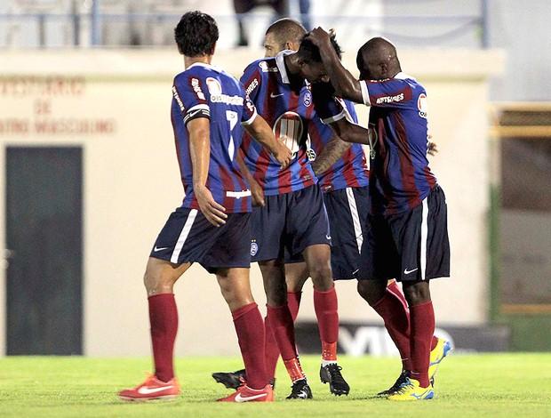 Anderson Talisca gol Bahia Juazeiro (Foto: Futura Press)