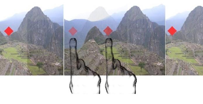 Na estereoscopia, duas imagens levemente diferentes dão a noção de profundidade (Foto: Reprodução / digital-photography-tips)