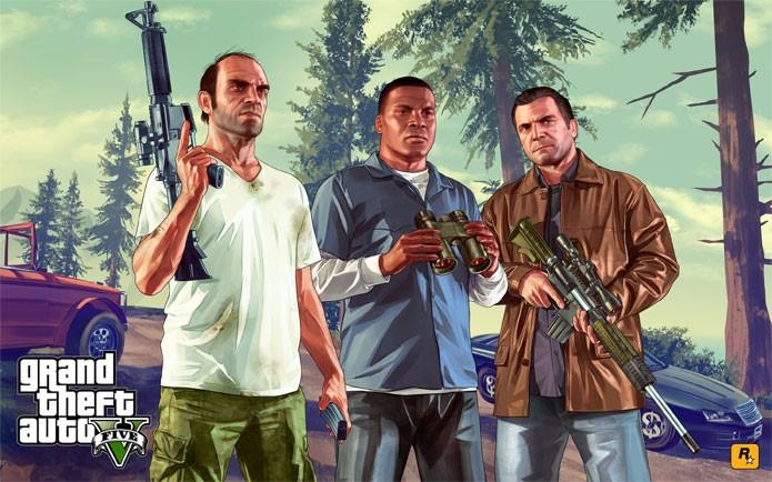 GTA 5 é uma das ofertas desta semana (Foto: Divulgação)