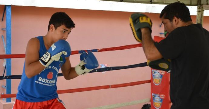 Guilherme Brasil vai para a pré-seleção da Marinha-RJ (Foto: Nailson Wapichana/GloboEsporte.com)
