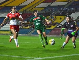 Copa do Brasil de futebol feminino 2016: Vila Nova-ES x Ipatinga (Foto: Sidney Magno Novo/GloboEsporte.com)