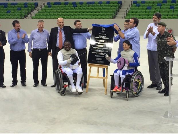 A Arena da Juventude, parte do Complexo Esportivo de Deodoro, foi inaugurada nesta quarta-feira (2) (Foto: Fernanda Rouvenat/G1)