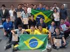 Brasil conquista 24 medalhas em mundial de matemática na Bulgária