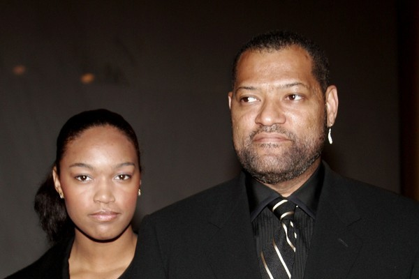 Montana e Laurence Fishburne (Foto: Getty Images)