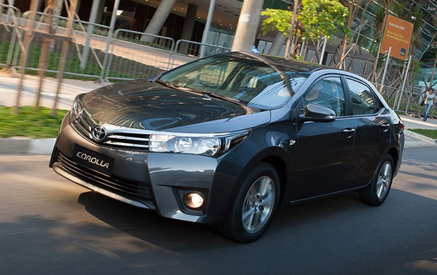 Toyota Corolla 2015 (Foto: Divulgação)