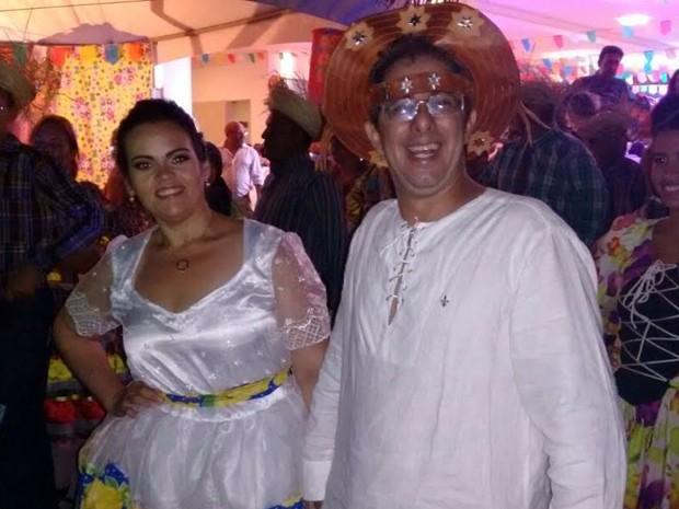 G1 - Casamento temático é realizado no Dia do Santo Antônio na ... c17edc9a2b1