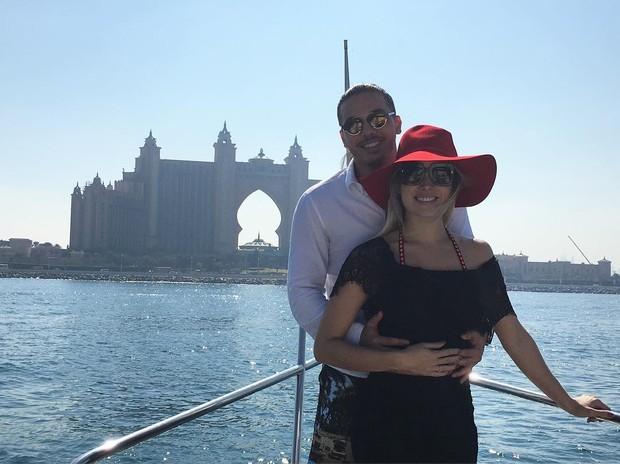 Wesley Safadão e a mulher, Thyane Dantas (Foto: Instagram)