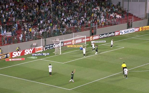 Gol do América-MG contra o ASA (Foto: Reprodução / PremiereFC)