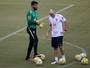 """Taffarel mostra confiança em Alisson, mas vê goleiro em situação """"delicada"""""""