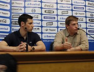 Advogados do Grêmio (Foto: Diego Guichard)