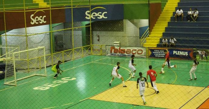 No sub-17 Dom Bosco vence Erem Pacífico da Luz  por 5 a 0 (Foto: Amanda Lima)