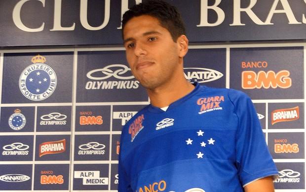 William Magrão, Cruzeiro (Foto: Tarcísio Badaró / Globoesporte.com)