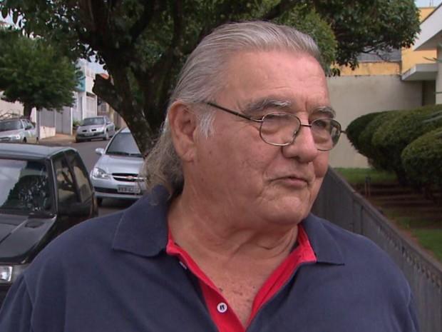 Gismo Mansin, coordenador da Defesa Civil de Taquaritinga, SP (Foto: Ronaldo Oliveira/EPTV)